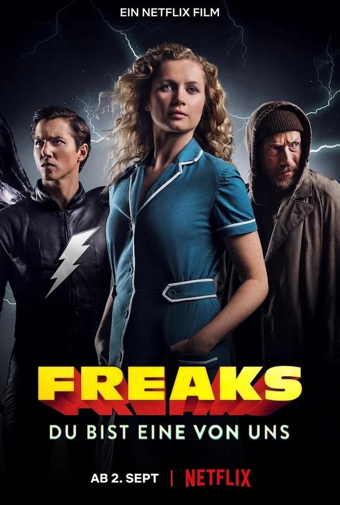 Freaks You're One of Us   Netflix (2020) ฟรีคส์ จอมพลังพันธุ์แปลก
