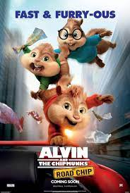 4k Alvin and the Chipmunks The Road Chip (2015)