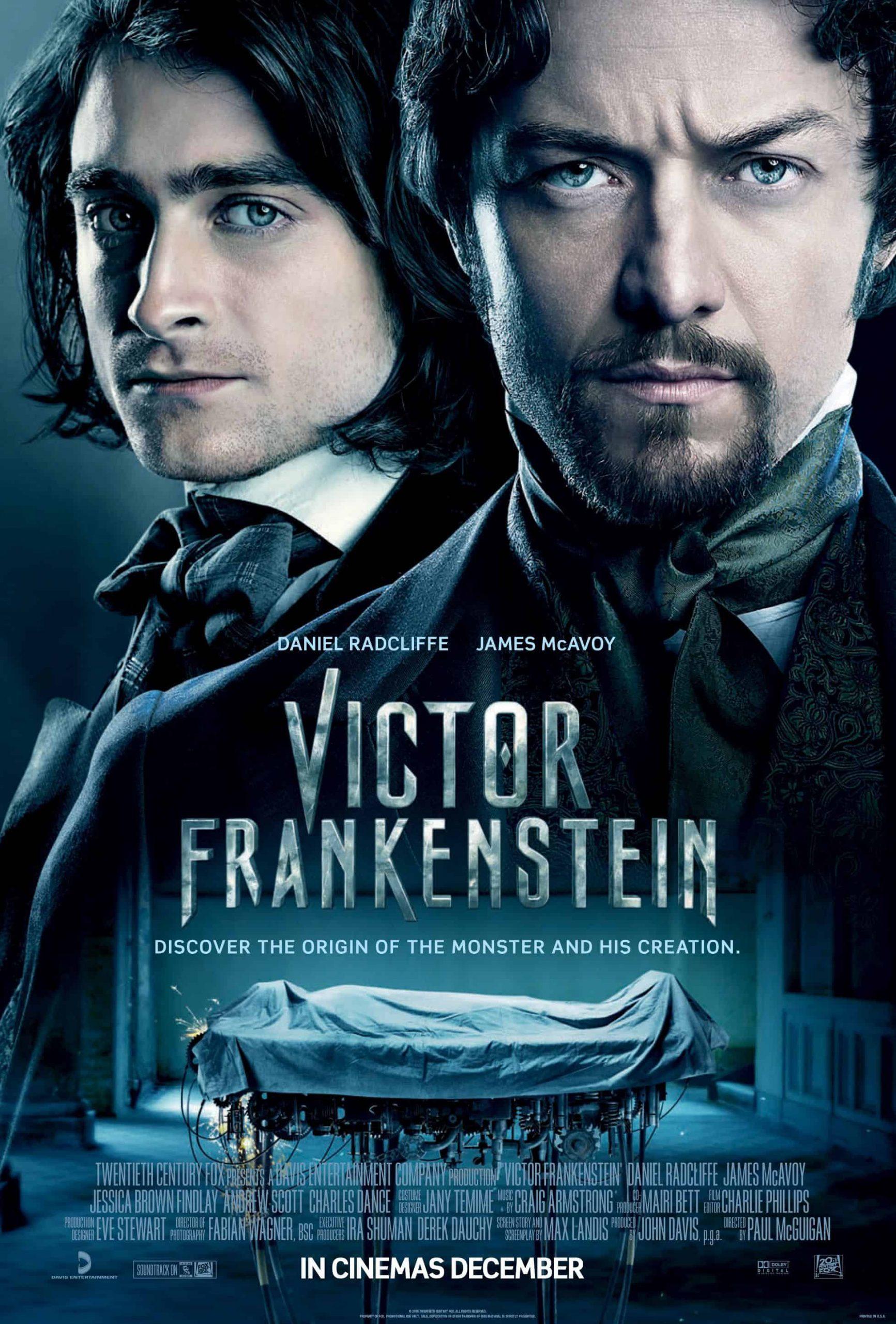 4k Victor Frankenstein (2015)