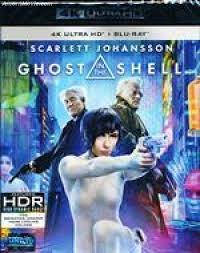4k Ghost in the Shell (2017)